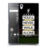 Porovnání ceny Head Case Designs Silikonové pouzdro na mobil Sony Xperia Z5 Premium HEAD CASE LFC You'll Never Walk Alone