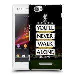 Porovnání ceny Head Case Designs Plastové pouzdro na mobil Sony Xperia M C1905 HEAD CASE LFC You'll Never Walk Alone