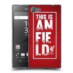 Porovnání ceny Head Case Designs Silikonové pouzdro na mobil Sony Xperia Z5 Compact HEAD CASE Liverpool FC This Is Anfield Red