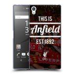 Porovnání ceny Head Case Designs Silikonové pouzdro na mobil Sony Xperia Z5 Premium HEAD CASE LFC This Is Anfield