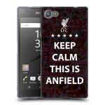 Porovnání ceny Head Case Designs Silikonové pouzdro na mobil Sony Xperia Z5 Compact HEAD CASE Keep Calm This Is Anfield