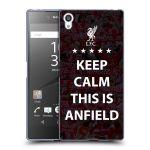 Porovnání ceny Head Case Designs Silikonové pouzdro na mobil Sony Xperia Z5 Premium HEAD CASE Keep Calm This Is Anfield