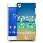 Porovnání ceny Head Case Designs Plastové pouzdro na mobil Sony Xperia Z3 D6603 HEAD CASE EMOJI COOL
