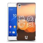 Porovnání ceny Head Case Designs Plastové pouzdro na mobil Sony Xperia Z3 D6603 HEAD CASE EMOJI SAD