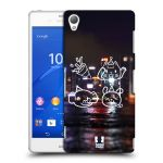Porovnání ceny Head Case Designs Plastové pouzdro na mobil Sony Xperia Z3 D6603 HEAD CASE EMOJI COOL PARTY