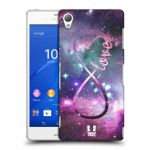 Porovnání ceny Head Case Designs Plastové pouzdro na mobil Sony Xperia Z3 D6603 HEAD CASE NEKONEČNÁ LÁSKA