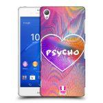 Porovnání ceny Head Case Designs Plastové pouzdro na mobil Sony Xperia Z3 D6603 HEAD CASE HOLOGRAF PSYCHO