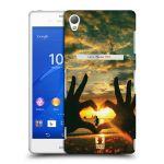 Porovnání ceny Head Case Designs Plastové pouzdro na mobil Sony Xperia Z3 D6603 HEAD CASE LÁSKA SI TĚ NAJDE