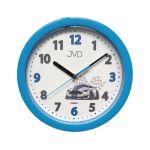 Porovnání ceny Dětské modré závodnické netikající tiché hodiny JVD HP612.D5 s tichým chodem