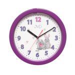 Porovnání ceny Dětské fialkové netikající tiché hodiny JVD HP612.D2 s tichým chodem