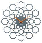Porovnání ceny Nástěnné hodiny Sunflower 48 cm dřevěné tmavě šedé - Karlsson