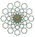 Porovnání ceny Nástěnné hodiny Sunflower 48 cm dřevěné zelené - Karlsson