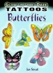 Porovnat ceny Dover Publications Glow-In-The-Dark Tattoos: Butterflies