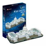 Porovnat ceny HM Studio Puzzle 3D The Capitol Hill / led -