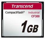 Porovnání ceny Transcend 1GB INDUSTRIAL CF300 CF CARD, high speed 300X paměťová karta (SLC)