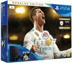 Porovnání ceny Sony Konzole PlayStation 4 PRO 1TB + FIFA 18 - Ronaldo Edition (PS4)
