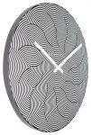 Porovnání ceny Designové nástěnné hodiny 3132 Nextime Waves 39cm