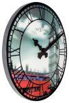 Porovnání ceny Designové nástěnné 3D hodiny 3136 Nextime Big Ben 39cm