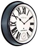 Porovnání ceny Designové nástěnné hodiny 3128zw Nextime Amsterdam 52cm