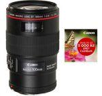 Porovnání ceny Canon EF 100mm f/2.8L Macro IS USM objektiv