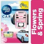 Porovnání ceny Ambi Pur Car strojek + náplň Flowers & Spring 7 ml