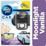 Porovnání ceny Ambi Pur Car strojek + náplň Moonlight Vanilla 7 ml