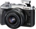 Porovnání ceny Canon EOS M6 + 18-150 Silver