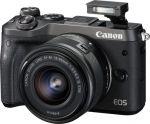 Porovnání ceny Canon EOS M6 + 18-150 Black