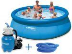 Porovnání ceny MARIMEX Bazén Tampa 4,57 x 1,22 m s pískovou filtrací ProStar 3 10340175