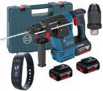Porovnat ceny BOSCH GBH 18V-26 F akumulátorové vŕtacie kladivo + extra batérie GBA 18 V 5 AH + fitness n