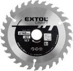 Porovnat ceny EXTOL CRAFT kotúč pílový s SK plátkami, 600x3,0x30mm 19128