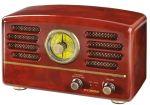 Porovnat ceny HYUNDAI RA 202 C Retro rádioprijímač, čokoláda