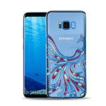 Porovnání ceny Made by Swarovski Stone Crystal Pouzdro Dance pro Samsung G955 Galaxy S8 Plus modrá (8595642264511)