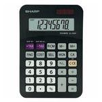 Porovnání ceny SHARP SH-EL330FB černá / stolní kalkulačka / osmimístná / blister (SH-EL330FBBK)