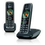 Porovnání ceny SIEMENS Gigaset C530 DUO / DECT/ GAP / bezdrátový telefon / černá (GIGASET-C530 DUO)