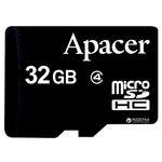 Porovnání ceny Apacer MicroSDHC 32GB / Class 4 / zápis: min. 4MBs (AP32GMCSH4-RA)