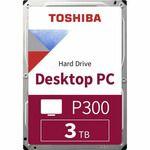 Porovnání ceny TOSHIBA P300 3TB / Interní disk / 3.5 / Výkonný / 64MB cache / SATA III / bulk (HDWD130UZSVA)