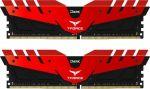 Porovnání ceny TEAM T-FORCE Dark 16GB DDR4 2400MHz / DIMM / CL14-16-16-31 / Red / 1,2V / KIT 2x 8GB