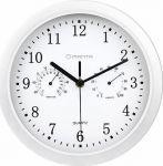 Porovnání ceny MANTA CLK003 Nástěnné hodiny s teploměrem a vlhkoměrem, 1xAAA