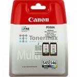 Porovnání ceny Canon PG-545 + CL-546, Multi-Pack, 8287B006, originální cartridge