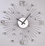 Porovnání ceny Luxusní moderní kovové nástěnné hodiny JVD HT074