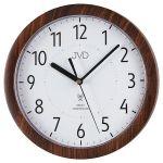 Porovnání ceny Přesné moderní rádiem řízené hodiny JVD RH612.9 - imitace dřeva