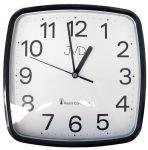 Porovnání ceny Černé hranaté rádiem řízené levné hodiny JVD RH616.3
