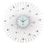 Porovnání ceny Luxusní obrovské paprskovité hodiny design JVD HJ66 s bar. kamínky - průměr 80cm