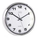 Porovnání ceny Luxusní stříbrné nástěnné hodiny JVD sweep HA4.2 (kovový vzhled)