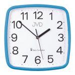 Porovnání ceny Modré hranaté rádiem řízené přesné levné hodiny JVD RH616.5