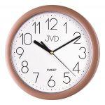 Porovnání ceny Béžové plastové nástěnné netikající tiché hodiny JVD sweep HP612.24