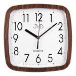 Porovnání ceny Hranaté Nástěnné hodiny JVD quartz H615.6 imitace dřeva