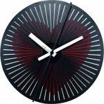 Porovnání ceny Pohyblivé designové nástěnné hodiny Nextime 3124 Kinegram Heart 30cm