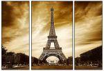 Porovnání ceny EVK Obraz Eiffelova věž 3 díly; velký; rám modern 2mm